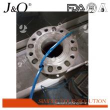 Válvula de aço inoxidável Pnumatic pneumática da pitada do RUÍDO