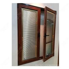 fenêtre ouverte vers l'intérieur / double fenêtre d'ouverture / fenêtre basculante en Chine