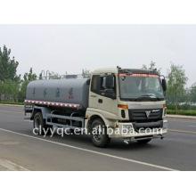 Foton 10000 litros agua bowser 4X2 cisterna de agua para la venta