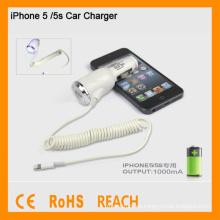 Cargador del coche de la alta calidad para el cargador del coche de iphone5 / 5s