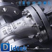 Didtek Internacional de la marca famosa Bronce brida válvula de compuerta