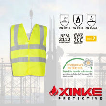 100% cotton fireproof winter work jacket for industry use