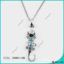 Мода Кристалл ожерелье Крокодил (Пн)