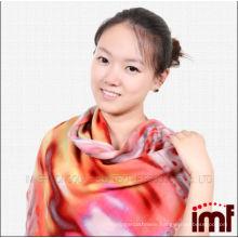 2014 New Style Fashionable wool scarf twill scarf