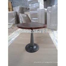 Mesa de café industrial