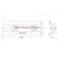 HVAC System Air Duct Motorizado Fire Proof Damper Roll Formación de la máquina de producción Indonesia