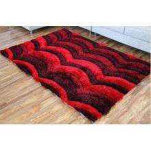 New Style 3D Modern Design Shaggy Carpet for Textile