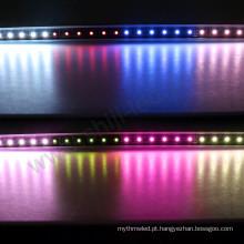 DC24V personalizou a barra clara DMX do diodo emissor de luz do uso exterior 48LEDs / m ao ar livre