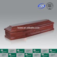 Walnut Paper Veneer Coffin&Casket _Made In China
