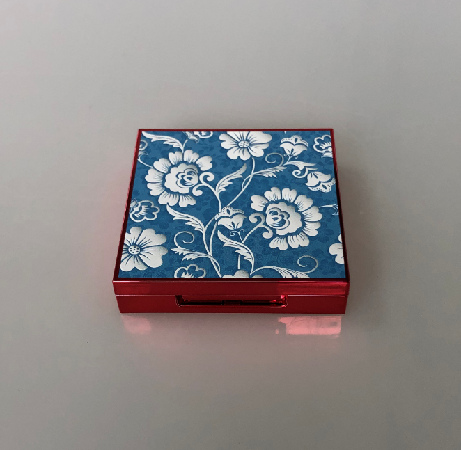 LTP2011 3D pattern mini square compact