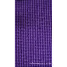 Tissu de polyester cationique de 300d avec le revêtement d'unité centrale