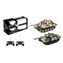 Réservoirs de bataille (y compris les batteries) Camouflage Color Plastic Military Toy