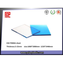 Transparent Color ESD Plexiglass Sheet
