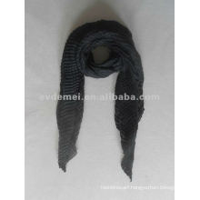 solid color polyester crinkle magic shawl supplier