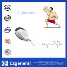 Poudre de L-Glutamine de supplément de nutrition de catégorie comestible d'approvisionnement d'usine