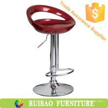 Modern Adjustable ABS Bar Stool Chair Bar With Plastic Bar Stool