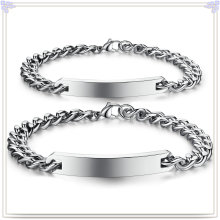 Fashion Jewelry ID Bracelet Stainless Steel Bracelet (HR297)