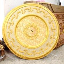 Médaillon artistique ronde PS pour le marché de la Turquie Décoration intérieure Dl-1160-8
