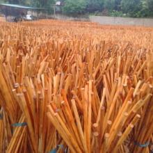 Venda quente de vassoura natural manipula toda a venda fábrica direta de madeira vassoura alças pvc mop stick