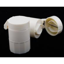 Caixa plástica do comprimido com cortador para a promoção Plb23