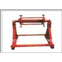 QJ máquina manual do uncoiler da folha de metal de 6 toneladas