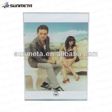 Cadre photo en verre blanc Sunmeta pour sublimation sublimation en blanc --- fabricant