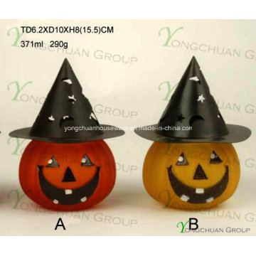 Tea-Light or Votive Candle Holder for Halloween Serie. Many Colors & Sizes Available