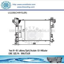 Radiateur de voiture pour CHRYSLER Duster 93-94 OEM: 4401961/4401962 Fabricant Hot Sale