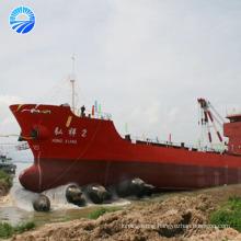 High strength pressure heavy responsibility ship launching air bag