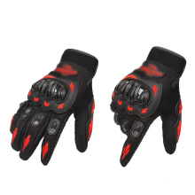 Wholesale Motorcycle Bike Knuckle Protection Anti Slip Full Finger Leather Motocross Pro Racing Gloves