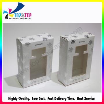 OEM plegable diseño personalizado material de papel perfume caja
