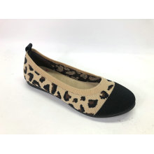 Women's Ballet Flats Knit Round Toe Loafer