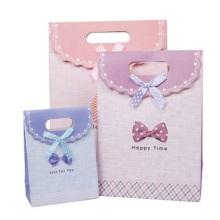 Customized Paper Bag. Die-Cut Cute Paper Gift Bag