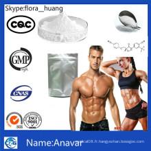 Anavar 99% Purity Bodybuiding Stéroïde Poudres Anavar