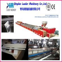 Linha de extrusão de perfil de PVC UPVC / máquina