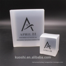 Clear PVC Packaging boxes transparent plastic display package square Box show case
