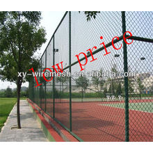 Stadium fence wire mesh