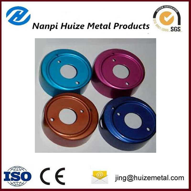 colorful anodizing metal component
