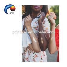 Vente chaude de l'autocollant sexy de tatouage de tribu de jeune mariée avec la conception unique et de haute qualité