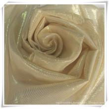 Gold Lurex Silk Chiffon Fabrics