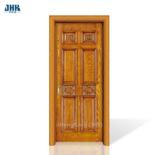 JHK- Modern Main Designs Solid Carved Doors
