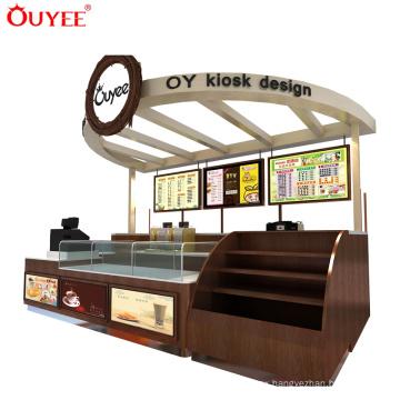 Shopping Mall Juice Bar Kiosk Design Operating Counter Milk Tea Kiosk Design Small Bar Counter Designs