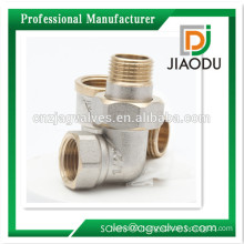 1/2 Inch 3/4 Inch 1 Inch female and male Brass/ Nickel plated /Chrome plated,nature Yellow thread Brass Union Elbow fitting