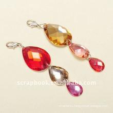 shaped acrylic charms