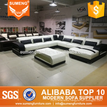 living room furniture guangdong sectional sofa,eucalyptus wood furniture