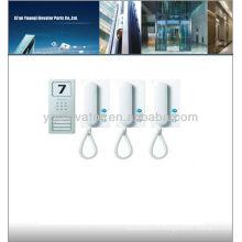 Système d'interphone ascenseur, système d'interphone wifi, porte-porte vidéo