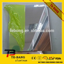 mirror anodized /reflective aluminum sheet for wall material