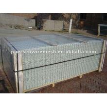 Panel de malla de alambre soldado galvanizado de peso ligero