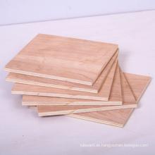 Raw / Plain Sperrholz für Möbel mit guter Qualität und niedrigen Preisen