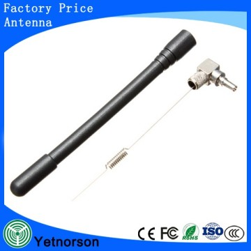 3G Rubber Duck White Color Antenna ts9 Connector